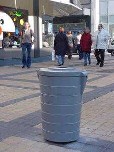 Litter bins and ashtrays : LOTUS Corbeille 65L